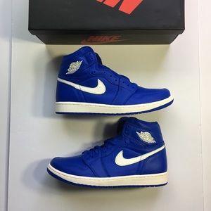 Nike Air Jordan 1 Retro Hyper Royal Men's Sneakers